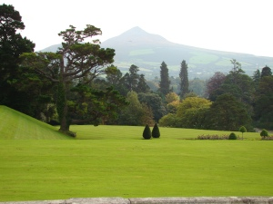 Powerscourt golf course, once an Englishman's front yard.