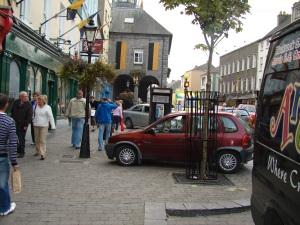 They say Irishmen don't park their cars.  They abandon them.